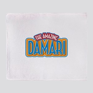 The Amazing Damari Throw Blanket